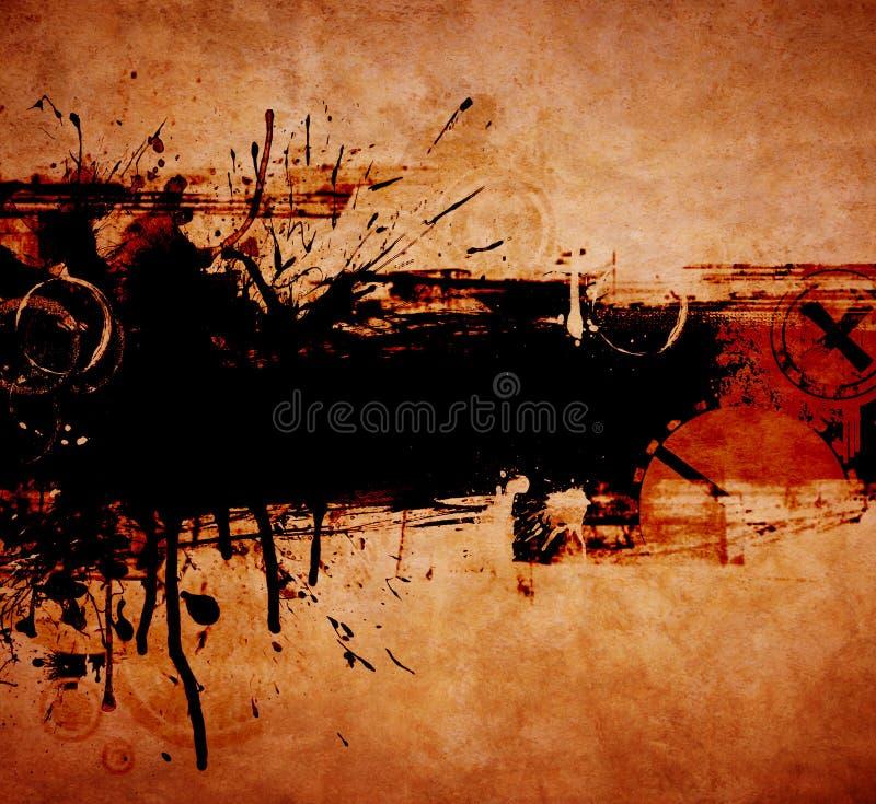 Art. abstrait. illustration stock