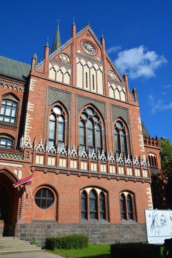 Art Academy de Letónia fotos de stock royalty free