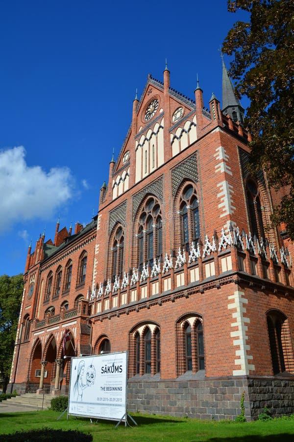 Art Academy de Letónia imagem de stock