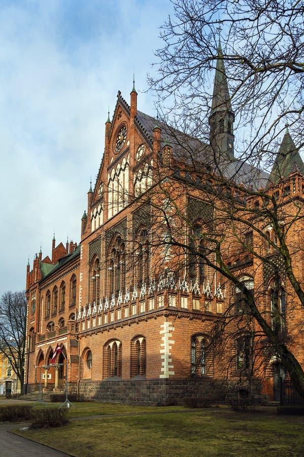 Art Academy de Letónia, Riga fotografia de stock royalty free