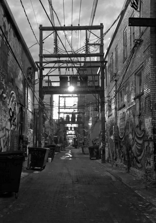 Art Alley Rapid City imagens de stock