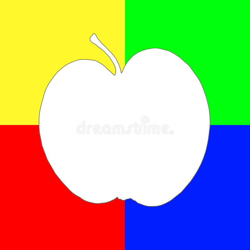 Art Apple Royalty Free Stock Photos
