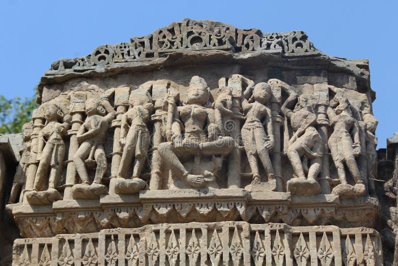 art of Arthuna temple stock photography