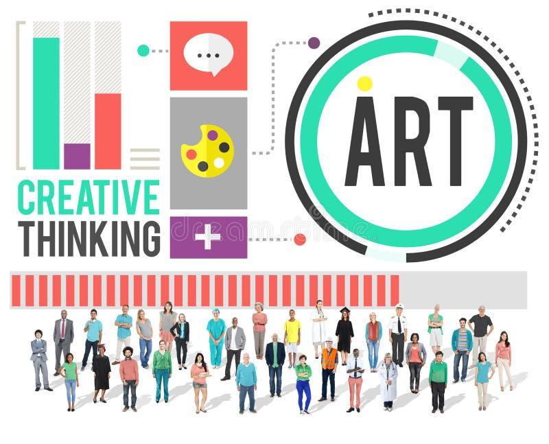 Art Artwork Creation Creative Hobby-Concept stock fotografie