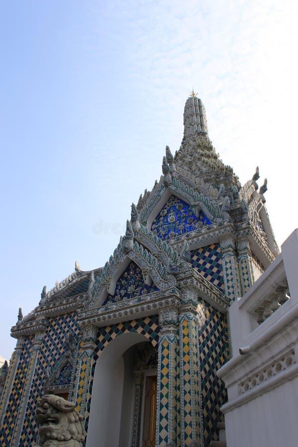 Thai temple wat prakaew royalty free stock image