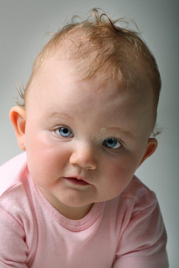 art baby fine girl portrait sweet στοκ εικόνα
