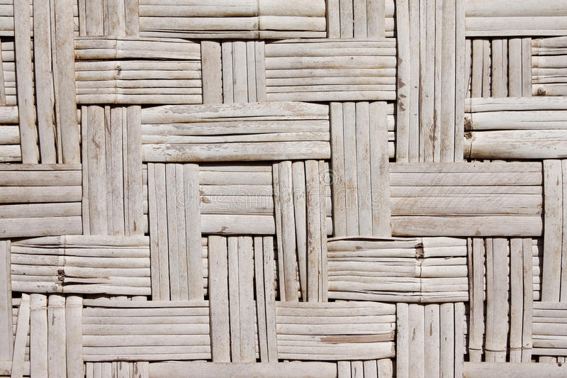 Art-Bambuswand des Musters gebürtige siamesische lizenzfreie stockbilder