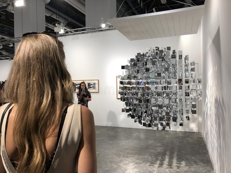 Art Basel Expo 2017 stock fotografie