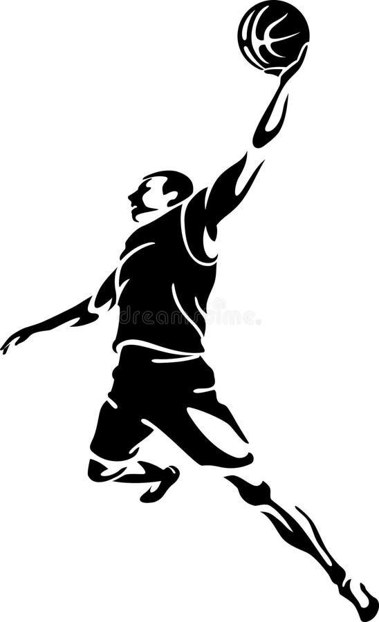 Art Basketball Dunk libre illustration