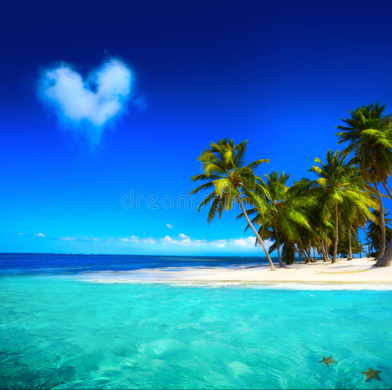 Art beautifu seaside view background stock image