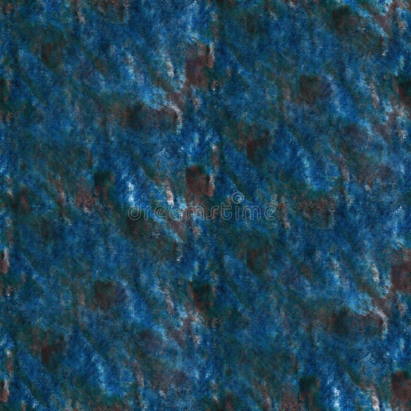 Art Black klick för bluewatercolorfärgpulvermålarfärg arkivfoto