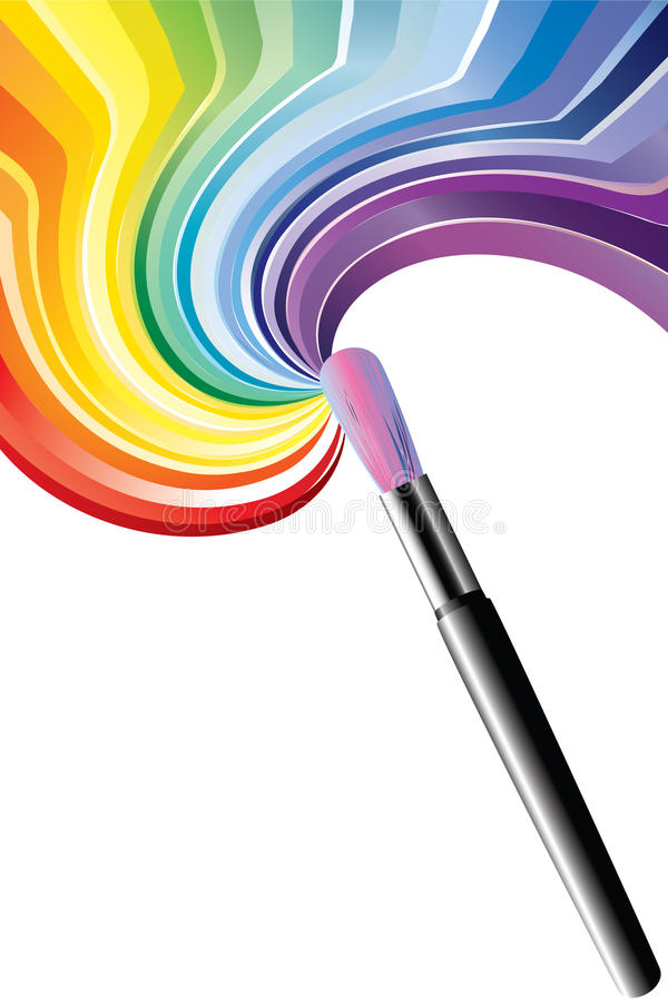 Download Art brush stock vector. Image of sketch, closeups, artist - 18003712