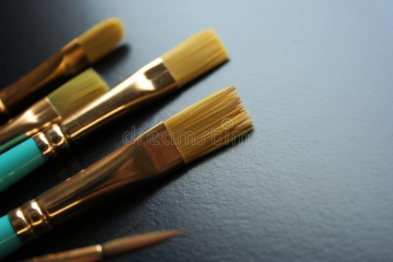 Art brush. Es of various sizes