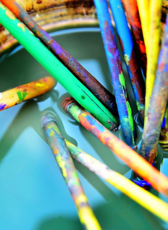 Free Art Brushes Stock Photos - 26773123