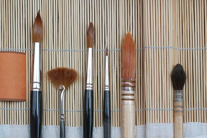 Art Brushes royalty-vrije stock foto