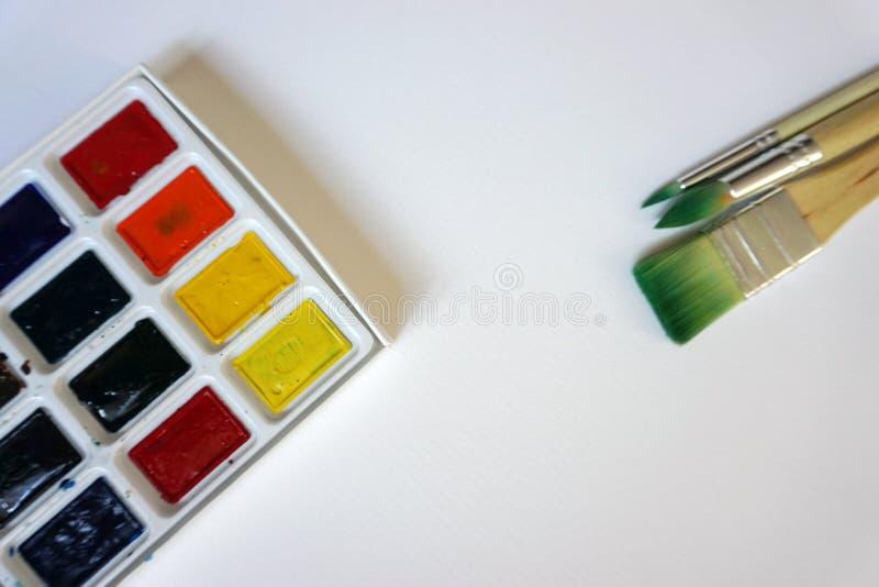 Art Brushes For Watercolor stock fotografie