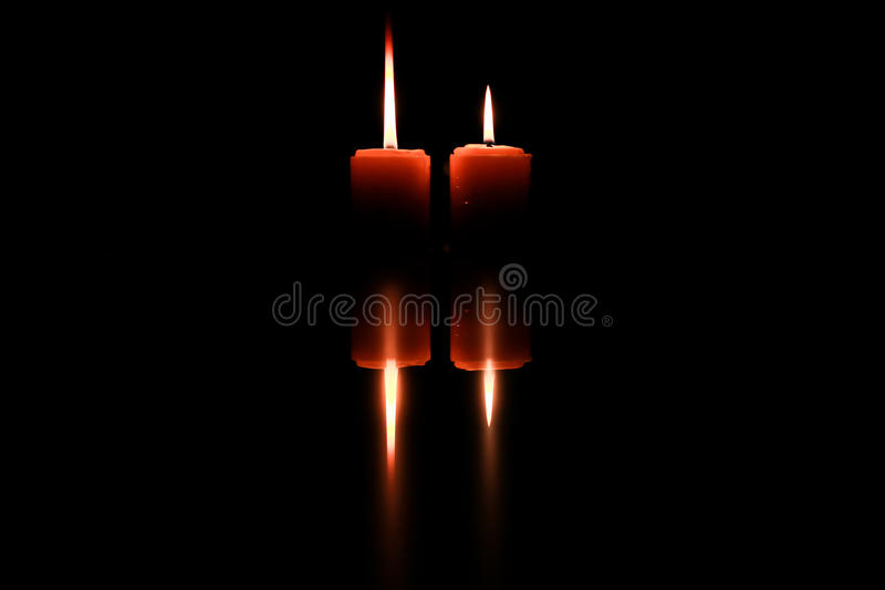 Art of candle royalty free stock photography