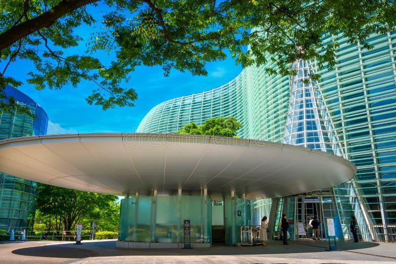 Art Center national dans Roppongi, Tokyo, Japon photographie stock