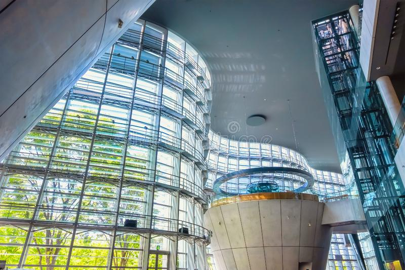 Art Center national dans Roppongi, Tokyo, Japon image stock
