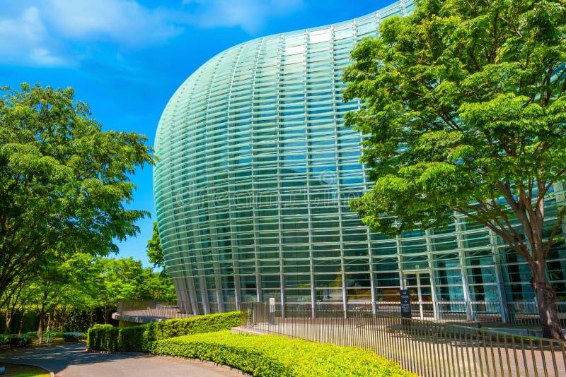 Art Center nazionale in Roppongi, Tokyo, Giappone fotografia stock
