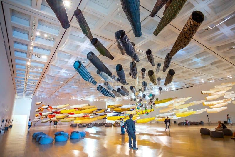 Art Center nazionale in Roppongi, Tokyo, Giappone immagini stock