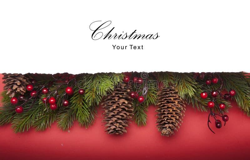 Art Christmas announcement stock photography