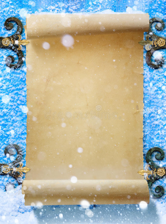 Art Christmas fantasibakgrund fotografering för bildbyråer