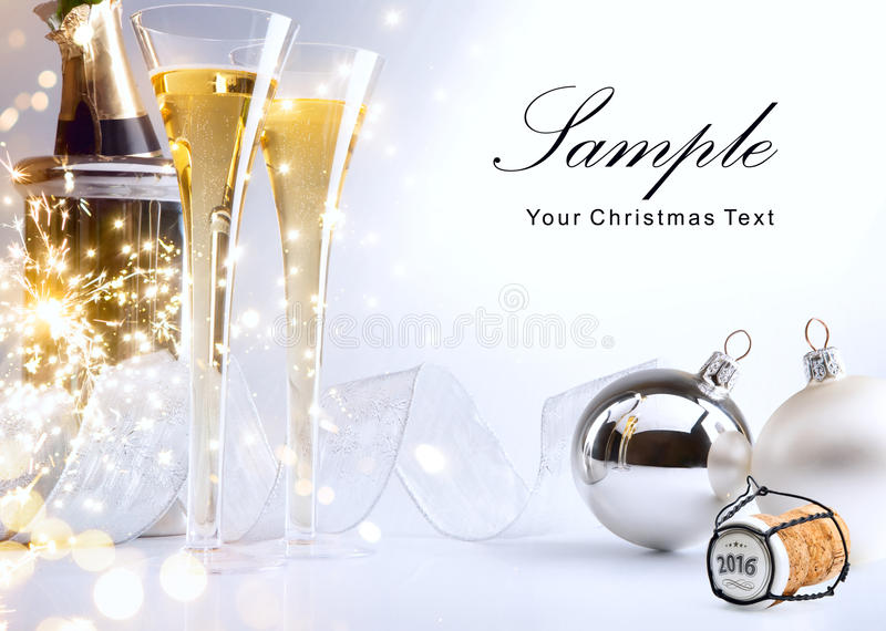 Download Art Christmas Or New Year's Party Invite Stock Image - Image of invitation, cork: 59760361