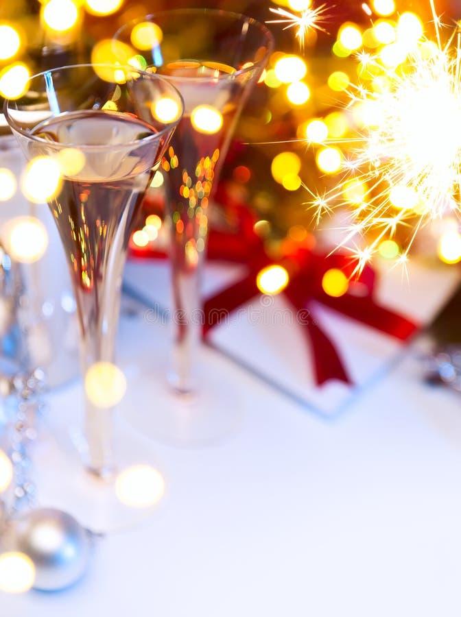 Art Christmas oder neue Jahre Partei stockfotografie