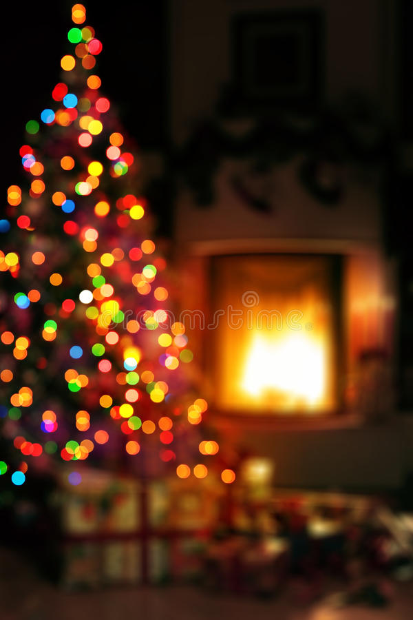 Art Christmas scene background royalty free stock photos