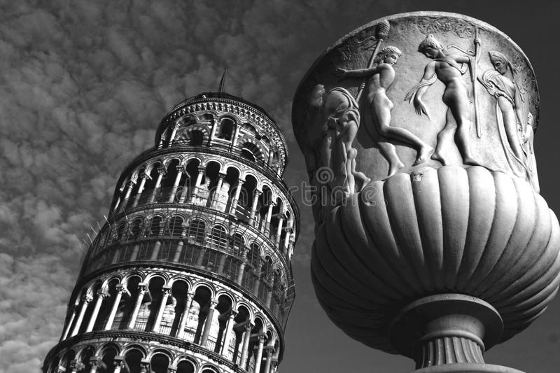 Art in the city of Pisa royalty free stock photography