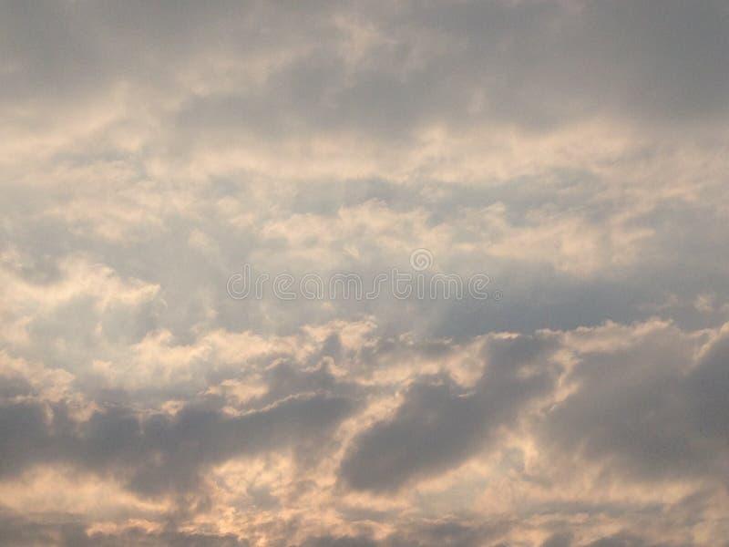 Art Cloud Sky pelo vento imagem de stock royalty free