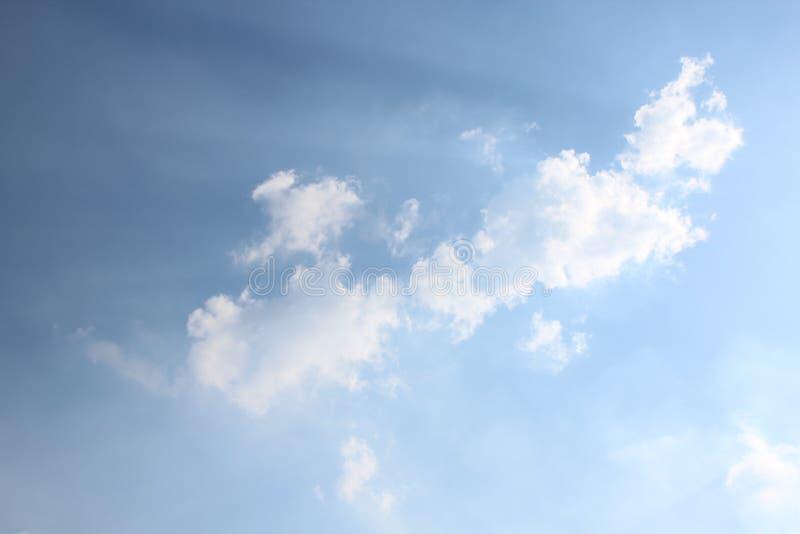 Art Cloud Sky pelo vento fotos de stock