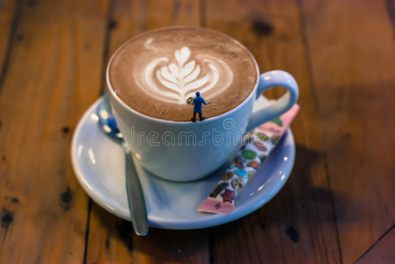 Art of Coffee royalty free stock photos