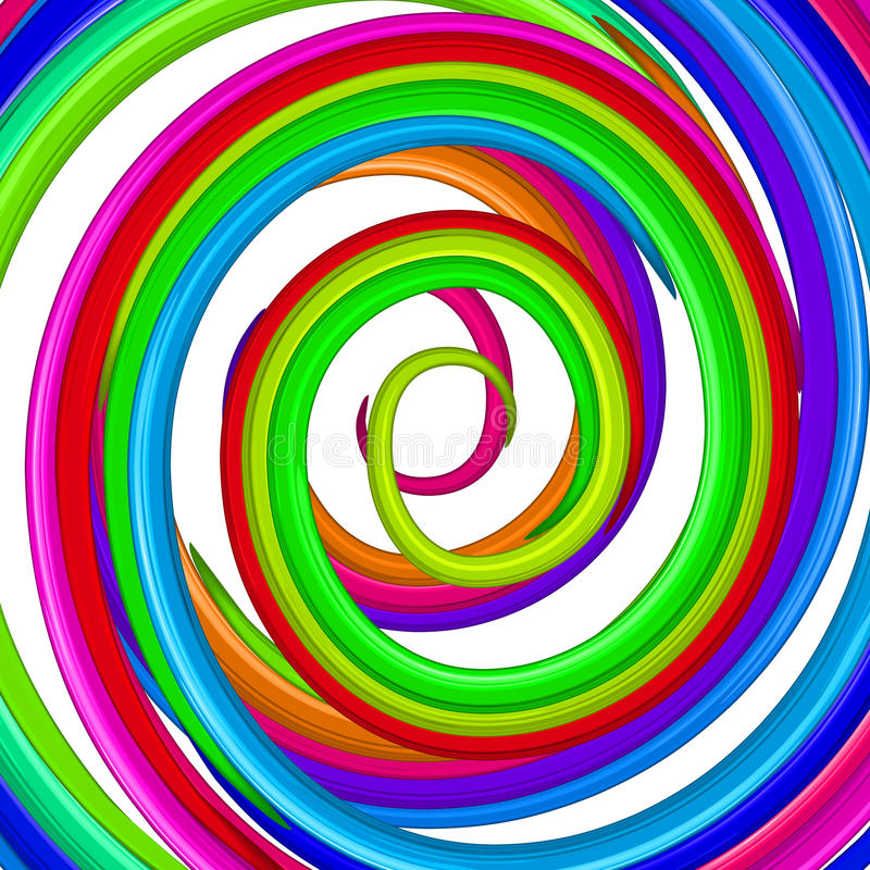 Download Art Colorful Rainbow Glossy Twirl. Abstract Backgr Stock Vector - Image: 25988724