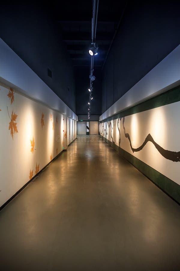 Download Art Corridor In Exhibition Hall Stock Image - Image: 36375533