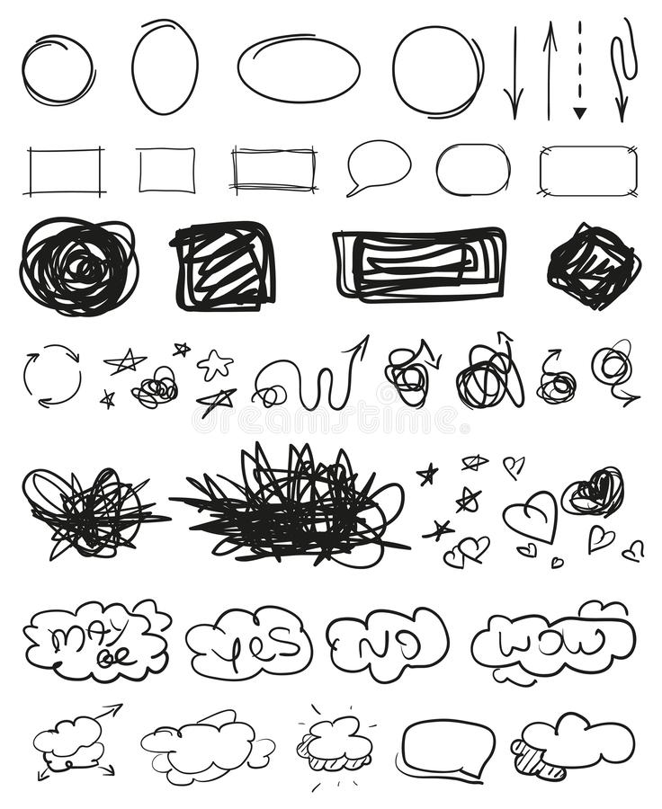 Art créatif Illustration illustration stock