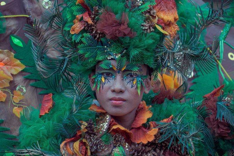 Art & Culture. Jember Fashion Festival royalty free stock photography