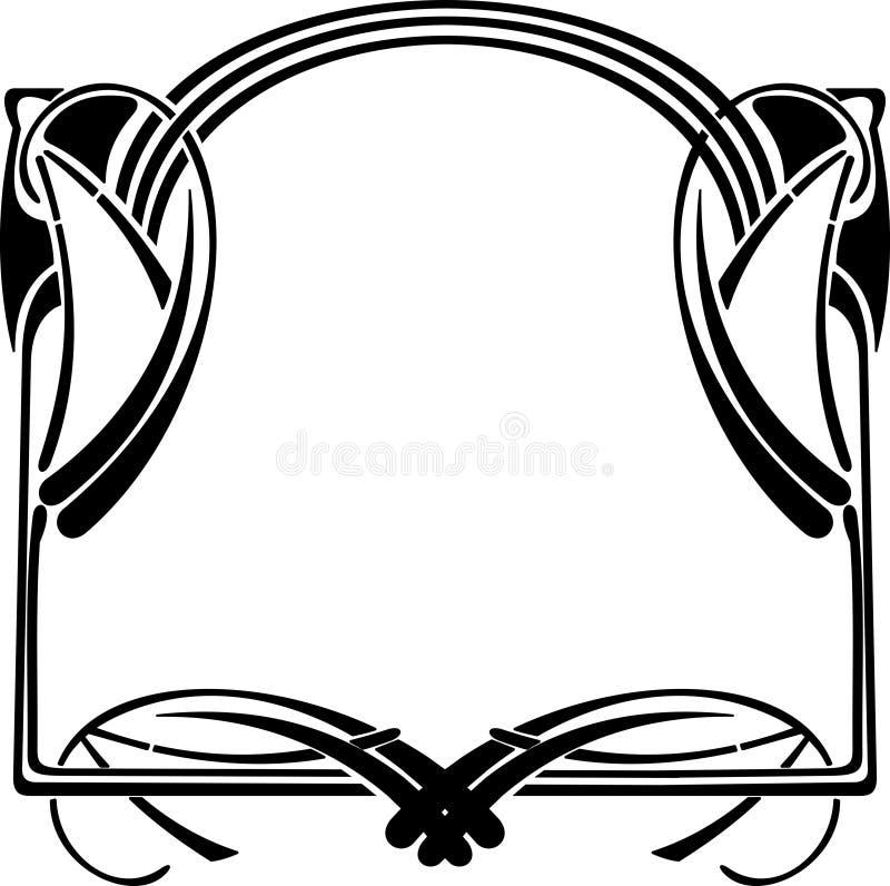 art décoram royaltyfri illustrationer