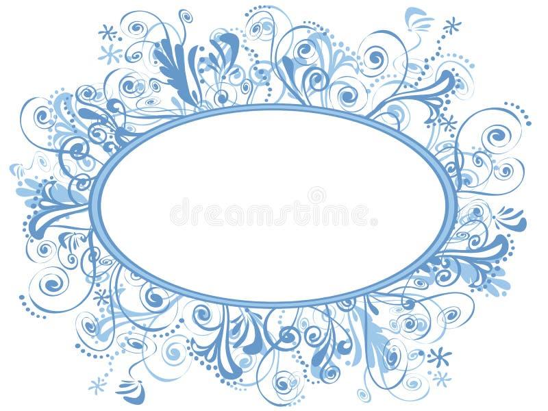 Art détaillé de fantaisie de décoration illustration stock