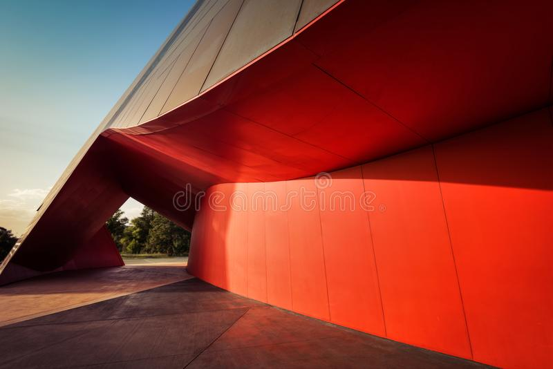 Art d'architecture de Canberra photographie stock libre de droits
