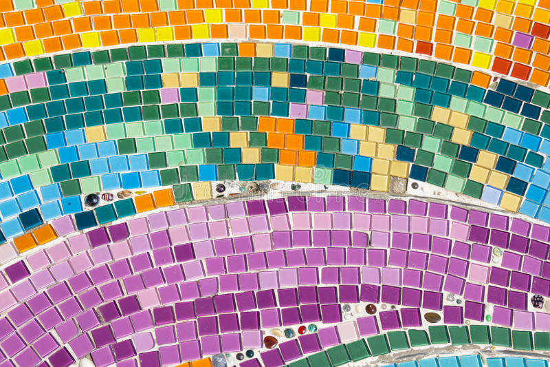 Art d'en céramique coloré image libre de droits