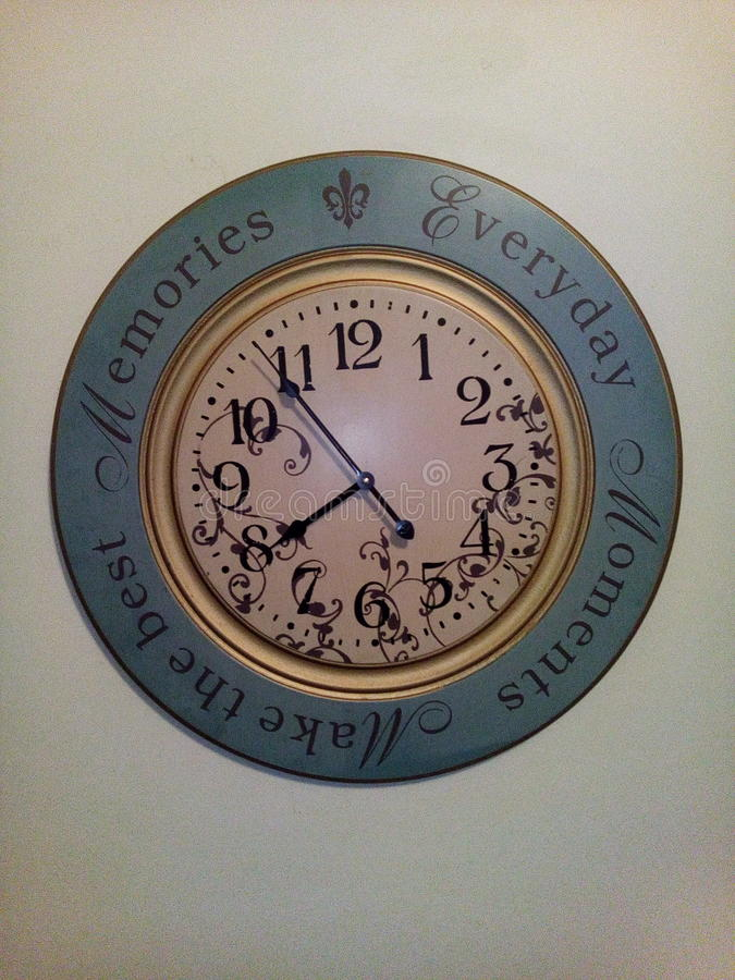 Art d'horloge murale images stock