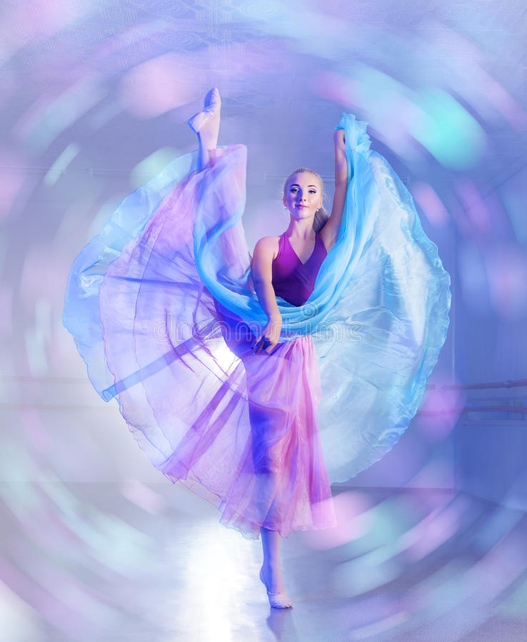 Art of dancing stock photos