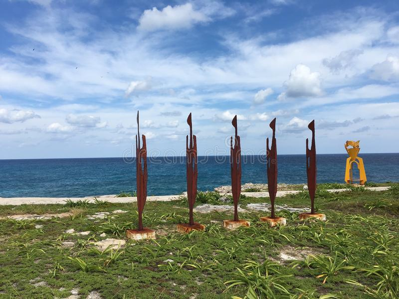 Art dans des mujeres d'Isla photos stock