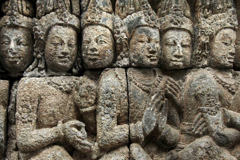 Art de Borobudur photos libres de droits