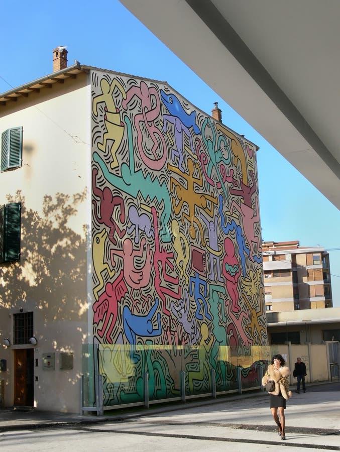 Souvent Art de bruit Keith Haring image stock éditorial. Image du travail  MN66