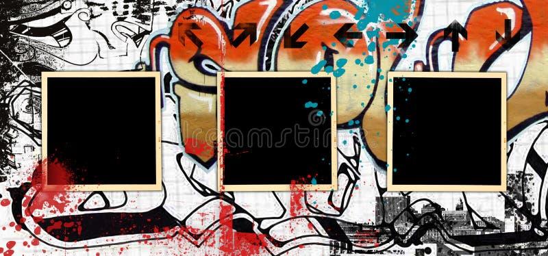 Art de graffiti illustration de vecteur