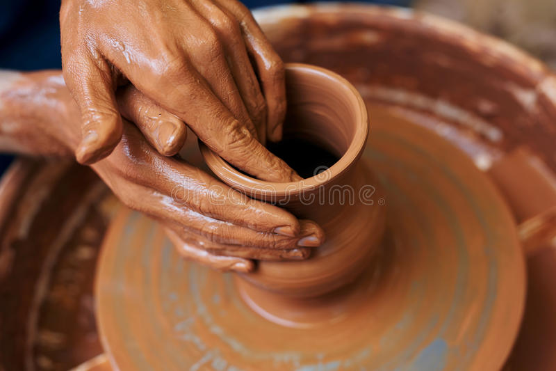 Art de la poterie photographie stock