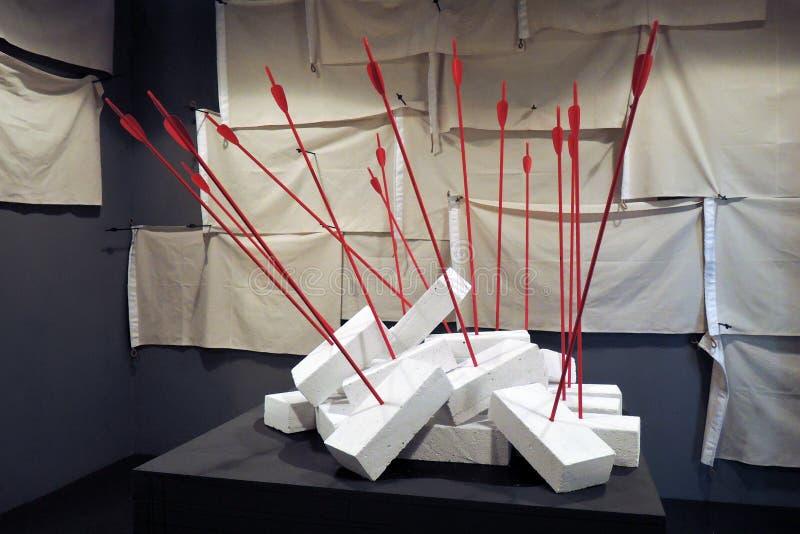 Art de la rue II biennale ArtMosSphere à Moscou image libre de droits